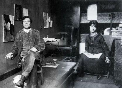 Amedeo Modigliani e Jeanne Hèbuterne