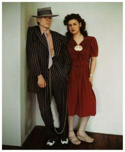 Andy Warhol e Paloma Picasso