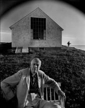 Arnold Newman - Edward Hopper. Massachusetts (1960)