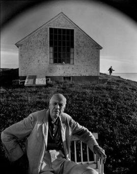 Arnold Newman - Edward Hopper. Massachusetts (1960)