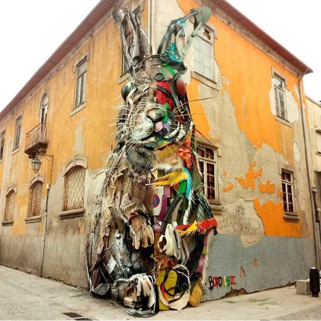 Bordalo II @Porto, Portugal