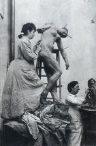 Camille Claudel atelier