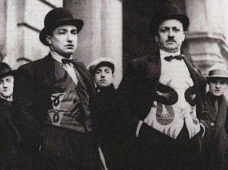 Fortunato Depero e Filippo Tommaso Marinetti