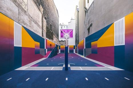 Campo da Basket Duperré by Pigalle e Ill-Studio
