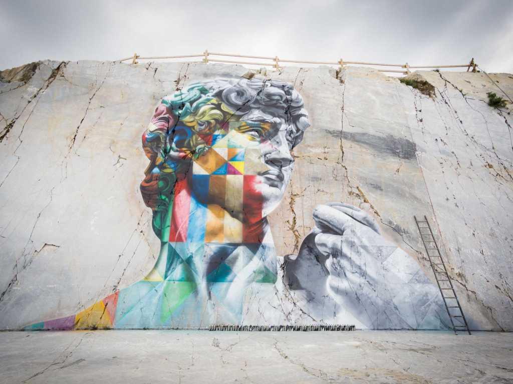 Eduardo Kobra @Carrara, Italy