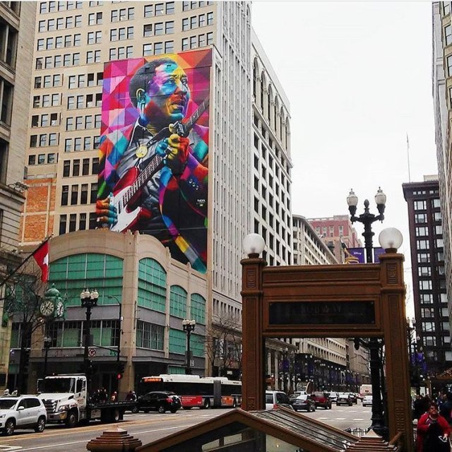 Eduardo Kobra @Chicago, USA