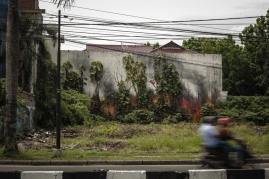Ernest Zacharevic @Medan - Photo Credit Hype Media