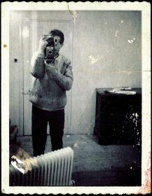 Francis Bacon - Polaroid self-portrait (1970)