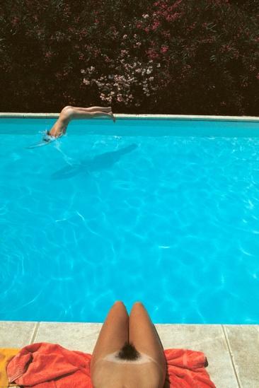 """Swimming Pool"" by Franco Fontana"