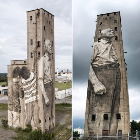 Guido van Helten @Nashville, USA