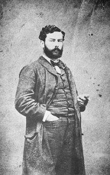 Il pittore impressionista francese Alfred Sisley