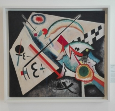 """Collezione Peggy Guggenheim - Vasily Kandinsky, """"Weisser Kreuz"""" (1922)"""
