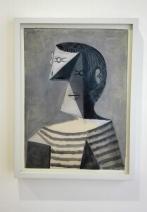 """Collezione Peggy Guggenheim - Pablo Picasso, """"Busto di uomo"""" (1939)"""