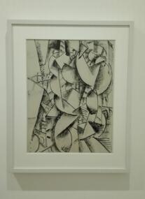 """Collezione Peggy Guggenheim - Fernand Léger, """"Studio di nudo"""" (1912-13)"""