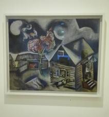"""Collezione Peggy Guggenheim - Marc Chagall, """"La pioggia"""" (1911)"""