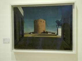 """Collezione Peggy Guggenheim - Giorgio de Chirico, """"La torre rossa"""" (1913)"""