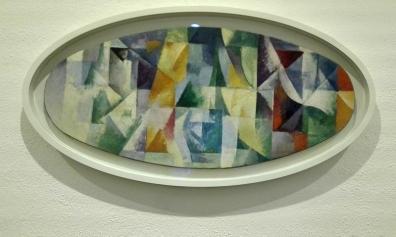 """Collezione Peggy Guggenheim - Robert Delaunay, """"Finestre aperte simultaneamente 1° parte, 3° motivo"""" (1912)"""