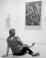 """Collezione Peggy Guggenheim - Pablo Picasso, """"Il poeta"""" (1911)"""