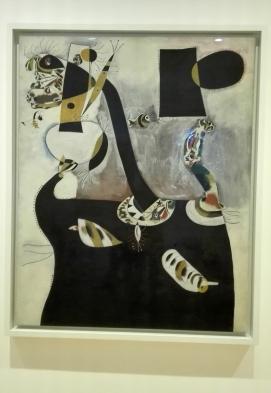 """Collezione Peggy Guggenheim - Joan Miró, """"Donna seduta II"""" (1939)"""