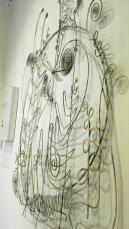 Collezione Peggy Guggenheim - Alexander Calder, Testiera di letto in argento (1946)