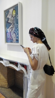 """Collezione Peggy Guggenheim - Jackson Pollock, """"Direzione"""" (1945)"""