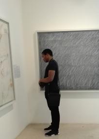 Collezione Peggy Guggenheim - Cy Twombly, Senza titolo (1967)