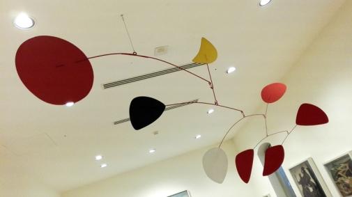 "Collezione Peggy Guggenheim - Alexander Calder, ""Luna gialla"" (1966)"