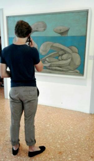 """Collezione Peggy Guggenheim - Pablo Picasso, """"Sulla spiaggia"""" (1937)"""