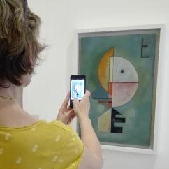 "Collezione Peggy Guggenheim - Vasily Kandinsky, ""Verso l'alto"" (1929)"