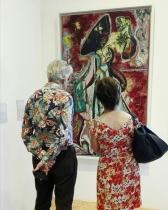 """Collezione Peggy Guggenheim - Jackson Pollock, """"La donna luna"""" (1942)"""