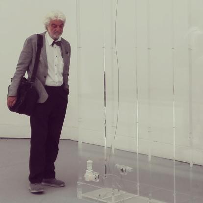 """Biennale Arte 2017 - Padiglione Centrale (Giardini:) """"Cloud Oktas"""" (2017) di Philippe Parreno (Francia)"""