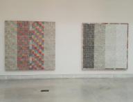 """Biennale Arte 2017 - Padiglione Centrale (Giardini:) """"Dna Study"""" di McArthur Binion (USA)"""