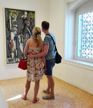 """Collezione Peggy Guggenheim - Jackson Pollock, """"Due"""" (1943–45)"""