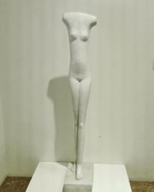 """Collezione Peggy Guggenheim - Alberto Giacometti, """"Donna che cammina"""", (1936)"""
