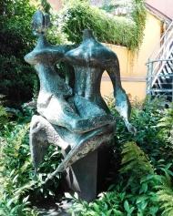 """Collezione Peggy Guggenheim - Luciano Minguzzi, """"Due figure"""" (1950-52)"""