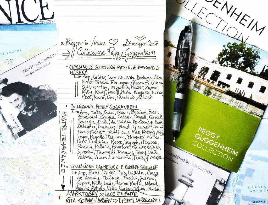 A blogger in Venice - Collezione Peggy Guggenheim