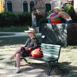 Biennale Arte 2017 - Giardini Marinaressa - Carole A. Feuerman - (USA)