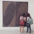 """Biennale Arte 2017 –  Padiglione Centrale (Giardini): """"Dna Study"""" di McArthur Binion (USA)"""