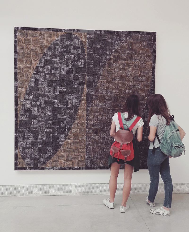"""Biennale Arte 2017 - Padiglione Centrale (Giardini): """"Dna Study"""" di McArthur Binion (USA)"""