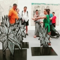 Kiki Smith, Various works, 2009-2014 –  Biennale Arte 2017 –  Padiglione Centrale (Giardini).