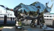 "Biennale Arte 2017 - Giardini Marinaressa - ""King Kong Rhino"" di Shih Li-Jen (Taiwan)"