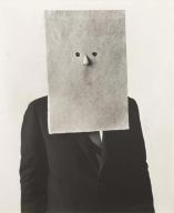 Irving Penn, Saul Steinberg con la maschera, 1966
