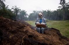 Isaac Cordal @North Sumatra - Photo Credit Isaac Cordal