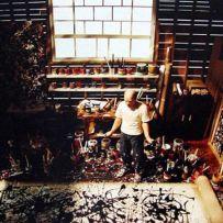 Jackson Pollack. Studio
