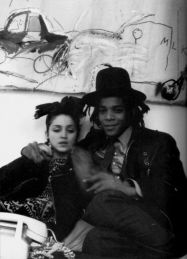 Madonna e Jean-Michel Basquiat