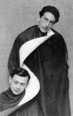 MAN RAY - Jean Cocteau e Tristan Tzara