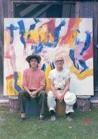 Paul McCartney e Willem de Kooning