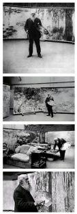 Monet nel suo Studio a Giverny by Henri Manuel