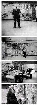 Monet nel suo Studio a Giverny by Henri Manuel