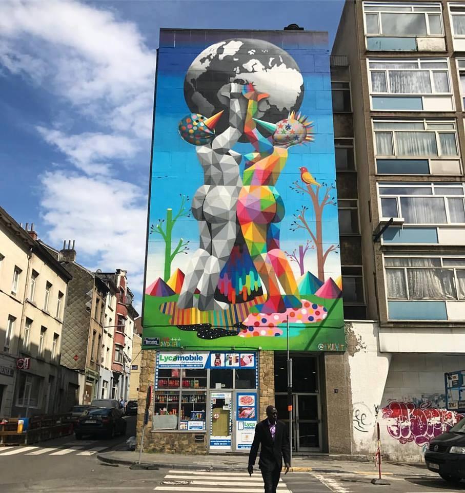 Okudart @Brussels, Belgium